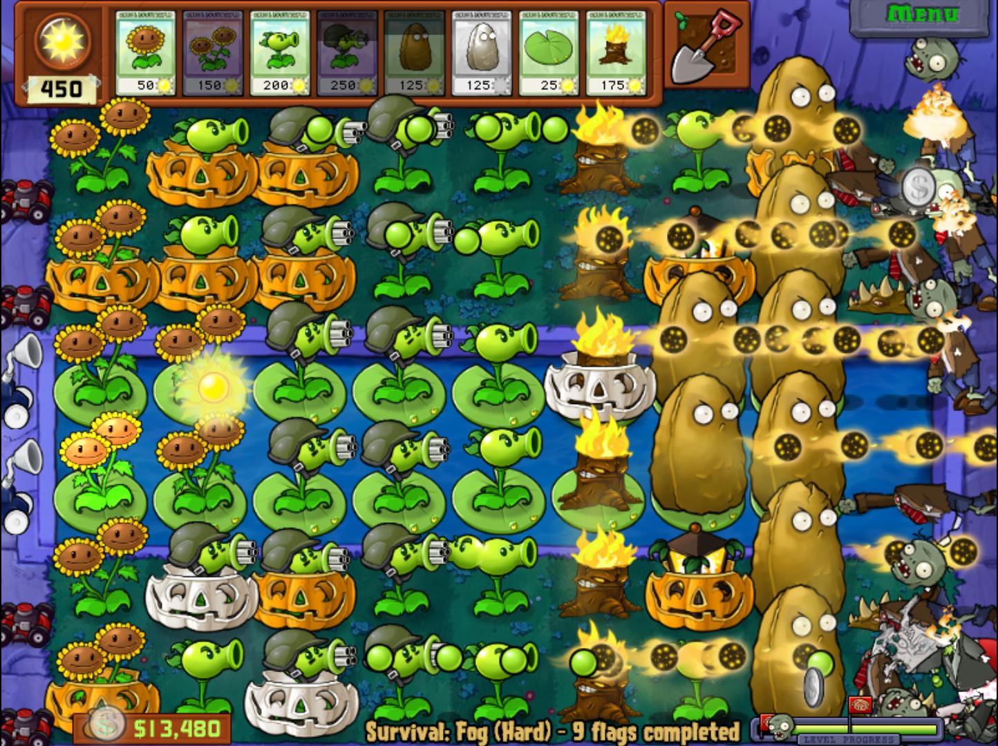 plantas vs zumbis eu amo ser gamer